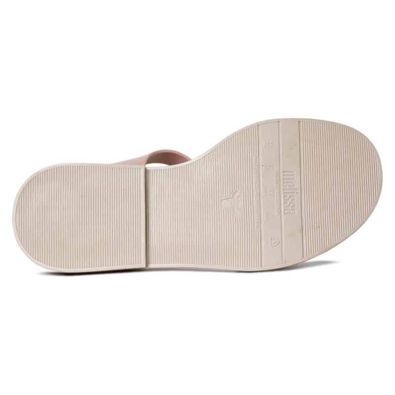 Melissa mar sandal branco rose bege 3