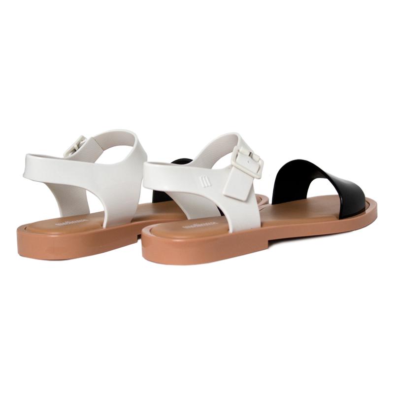 Melissa mar sandal preto branco bege 1