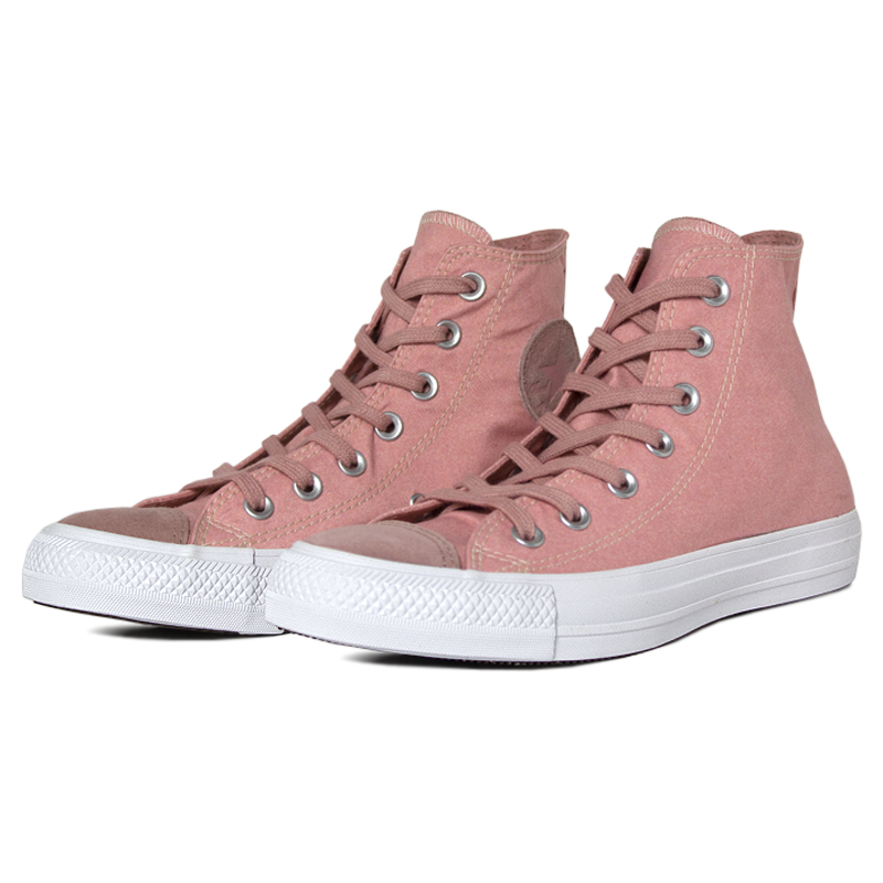 All star seasonal eco suede hi rosa ferrugem 2