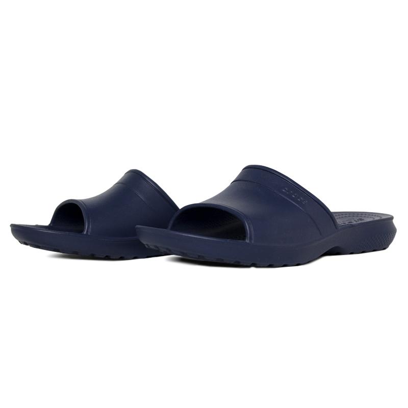 Crocs classic slide navy 1