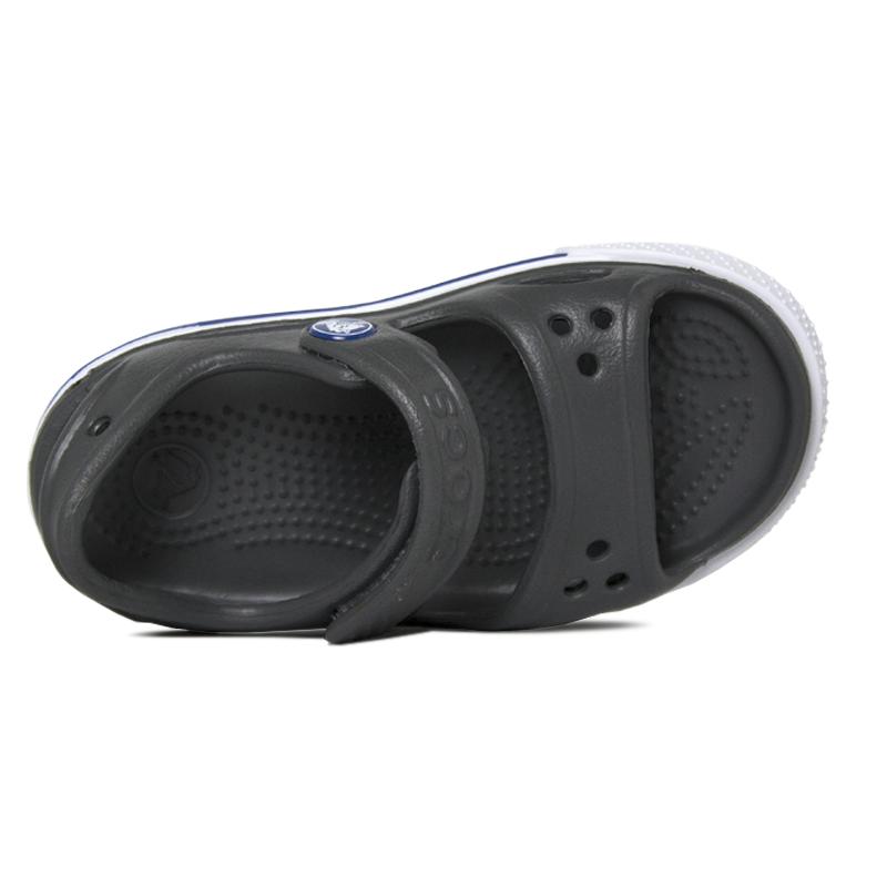 Crocband ii sandal slate grey blue jean 2