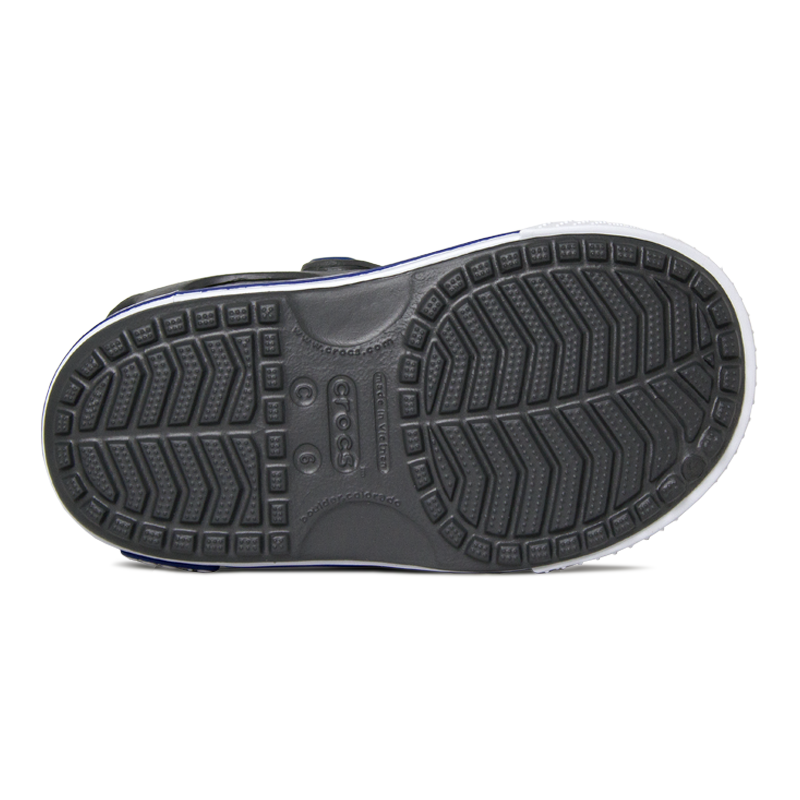 Crocband ii sandal slate grey blue jean 3