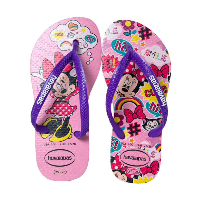 Havaianas kids disney cool rosa quartz 1