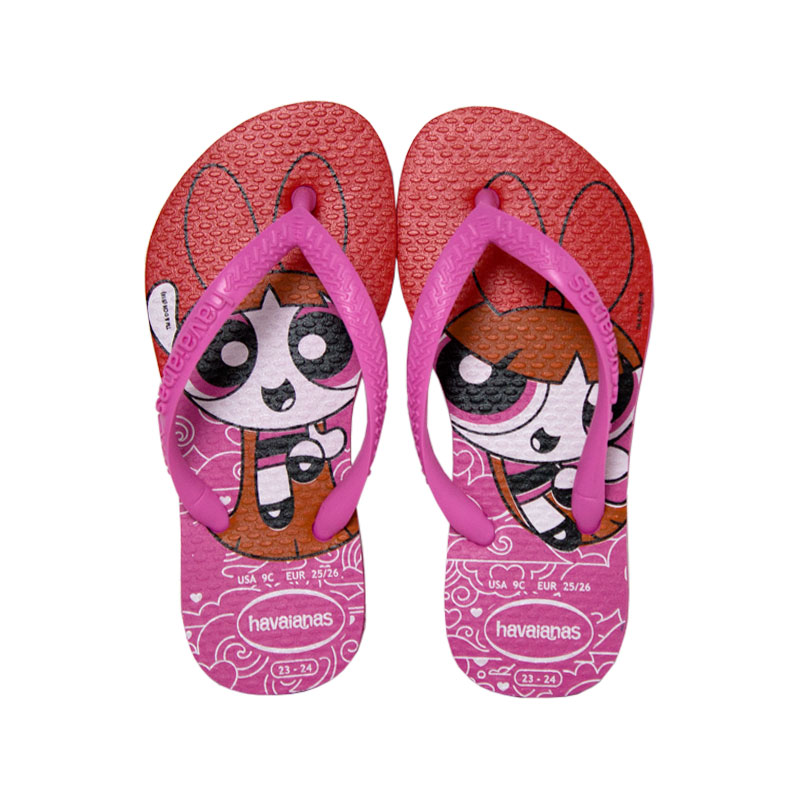 Havaianas kids slim ppg rosa batom 1