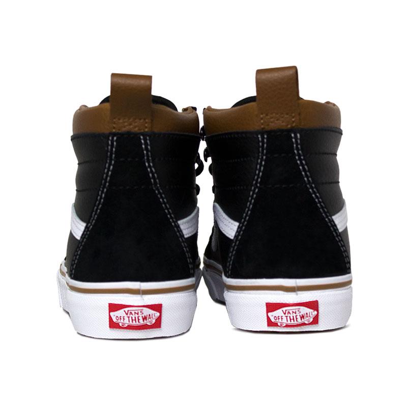 Tenis vans sk8 hi mte leather black true 2