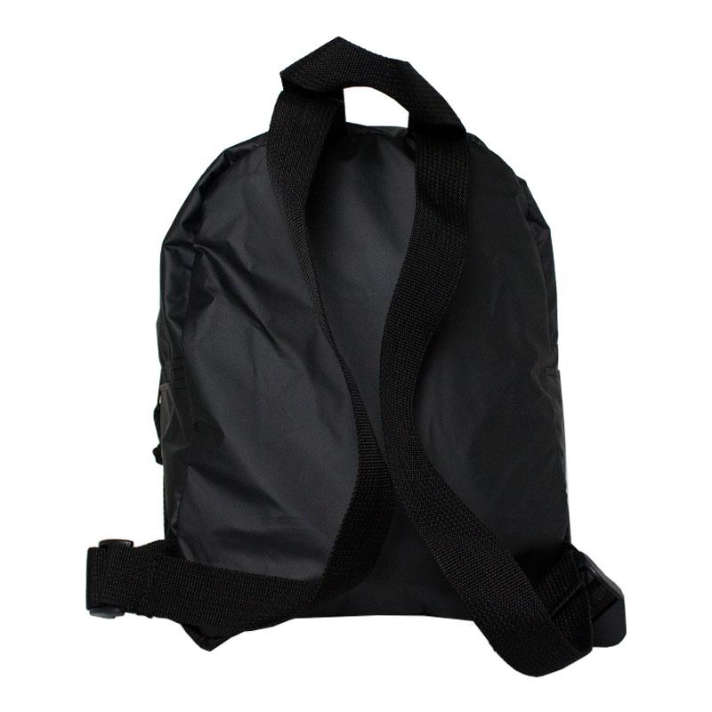 Mini mochila lucia rubber preto 1