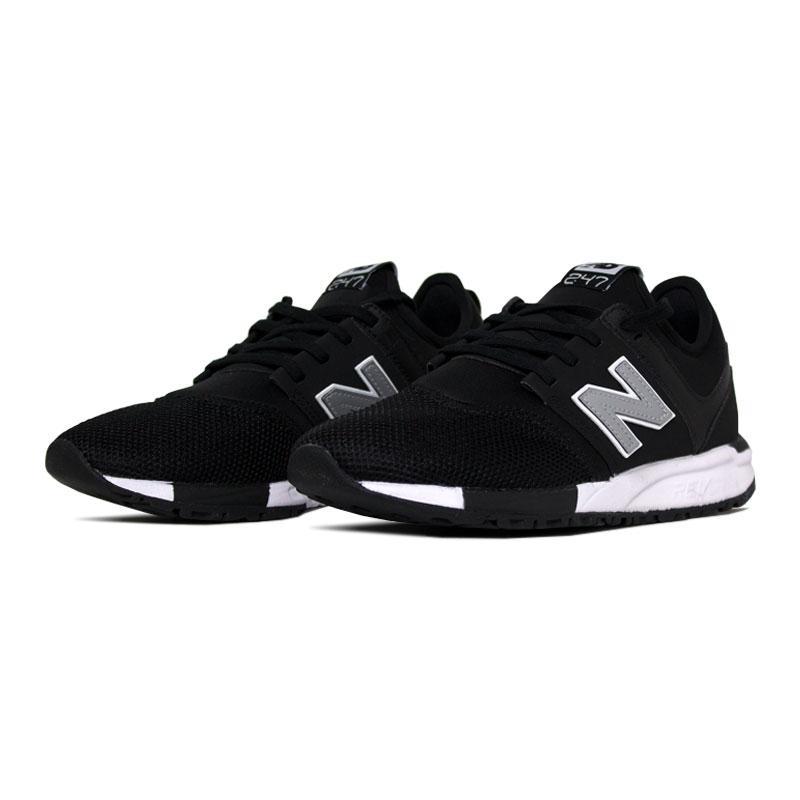 New balance 247 masculino preto cinza branco 1