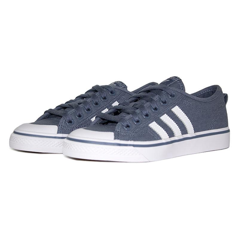 Tenis adidas nizza white blue 1