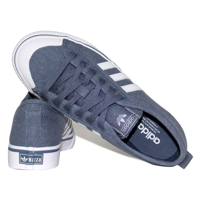 Tenis adidas nizza white blue 3