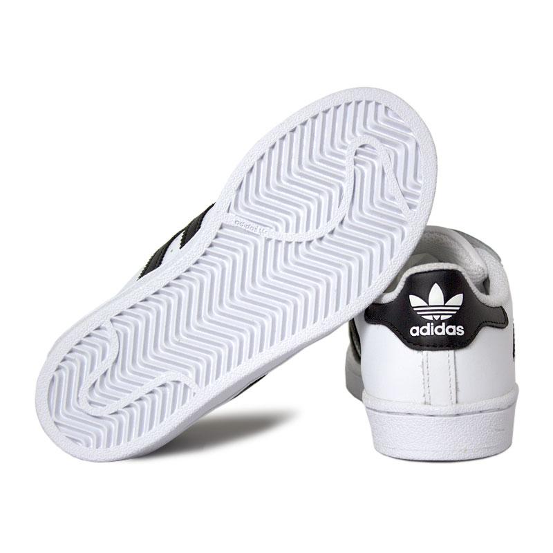 Adidas superstar foundation kids black white 3