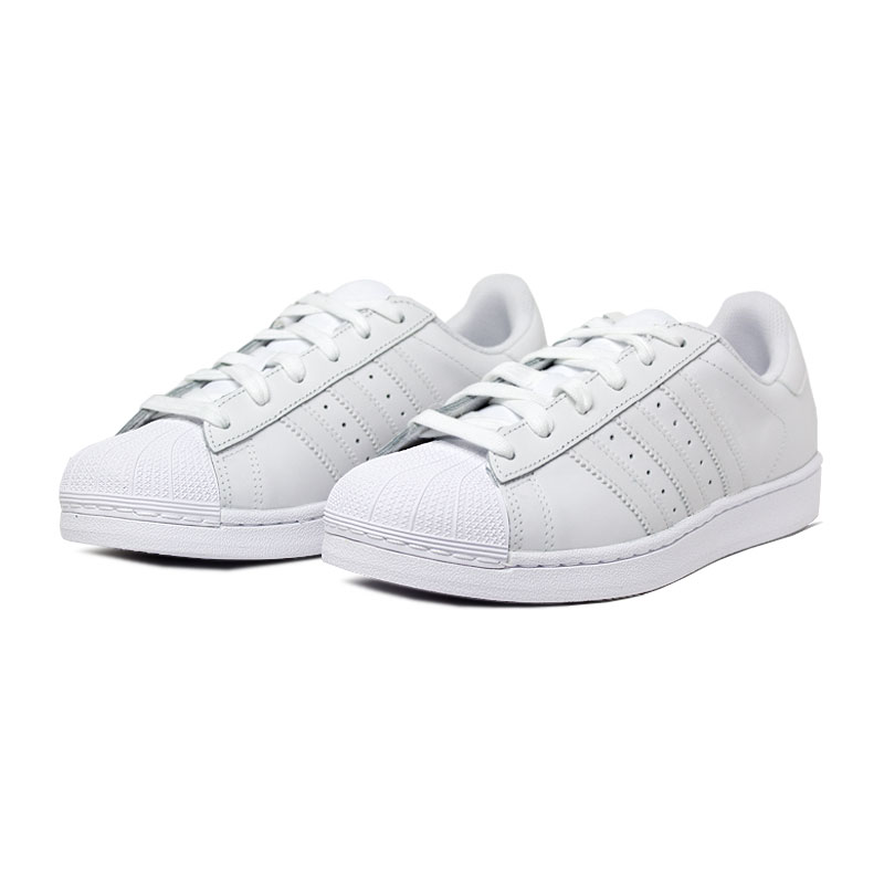 Tenis adidas superstar white white 1