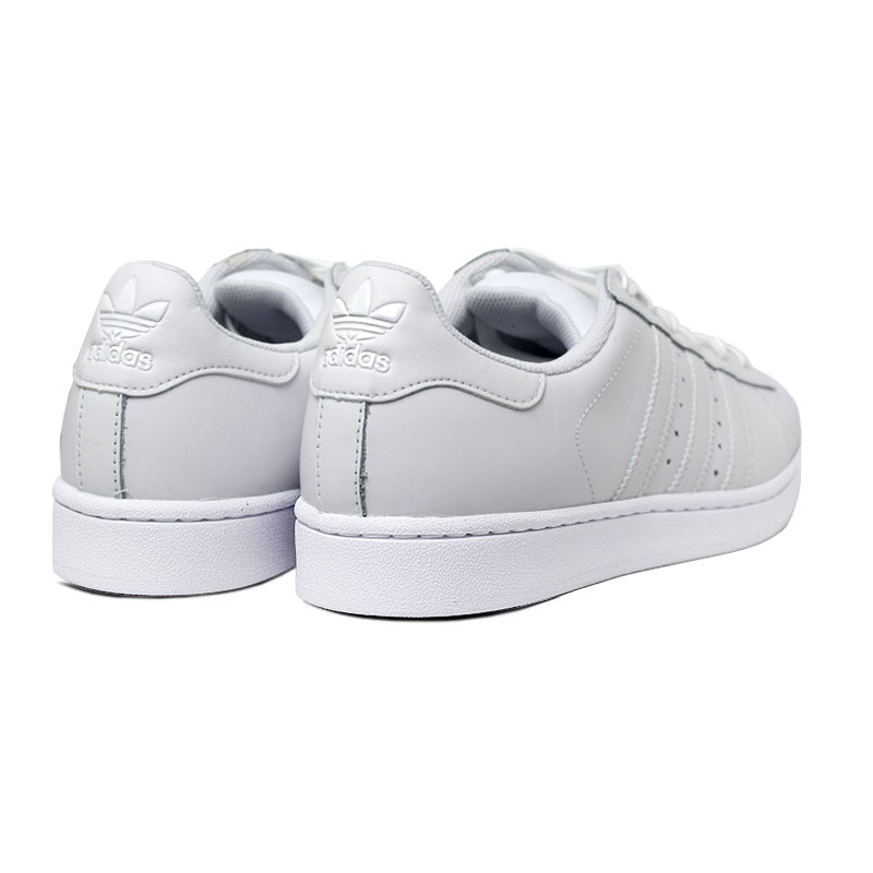 Tenis adidas superstar white white 2