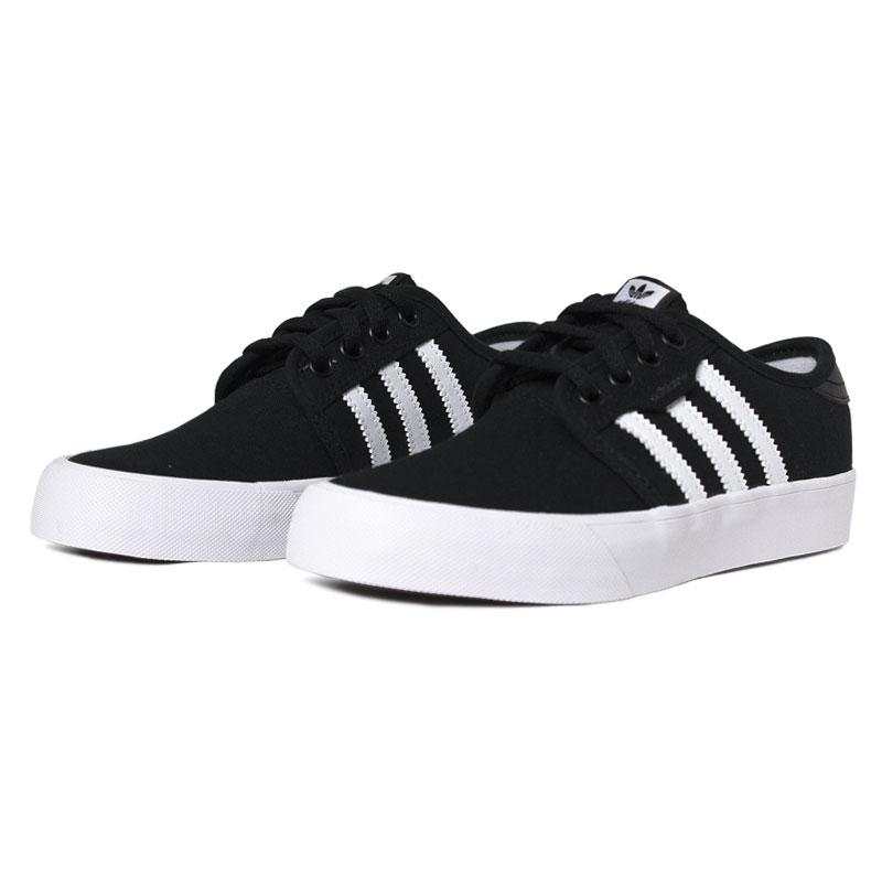 Tenis adidas seeley j black white 2