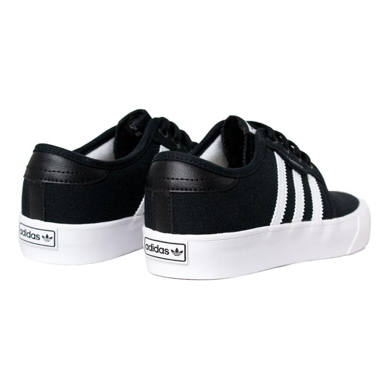 Tenis adidas seeley j black white 3