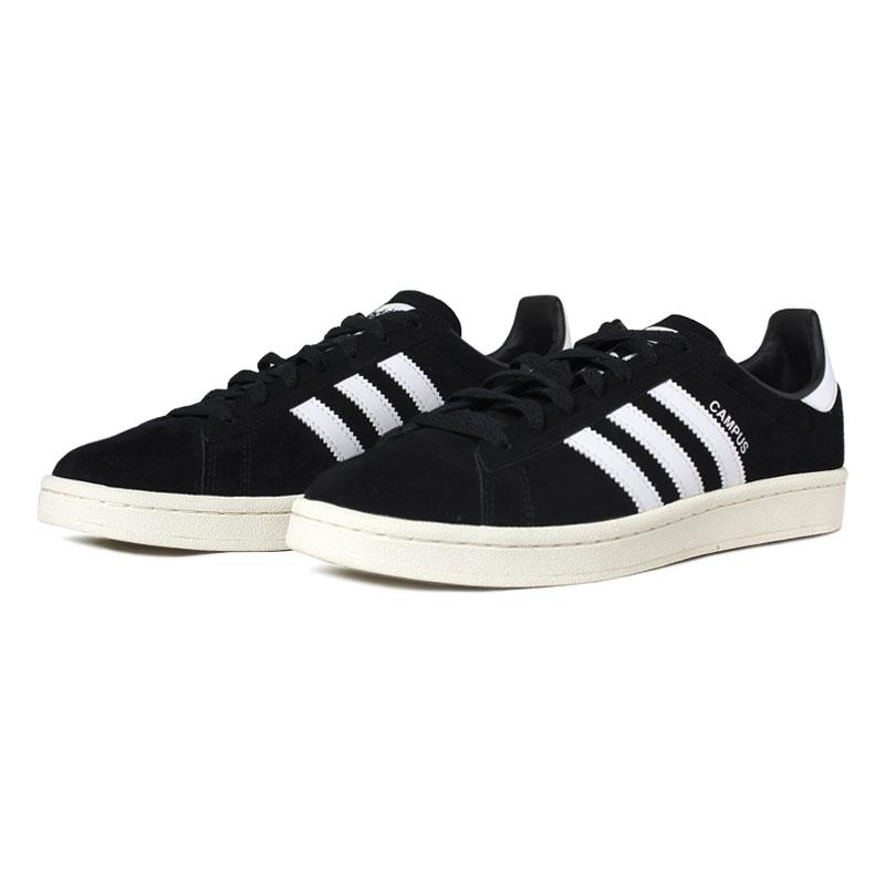 Tenis adidas campus black white 1