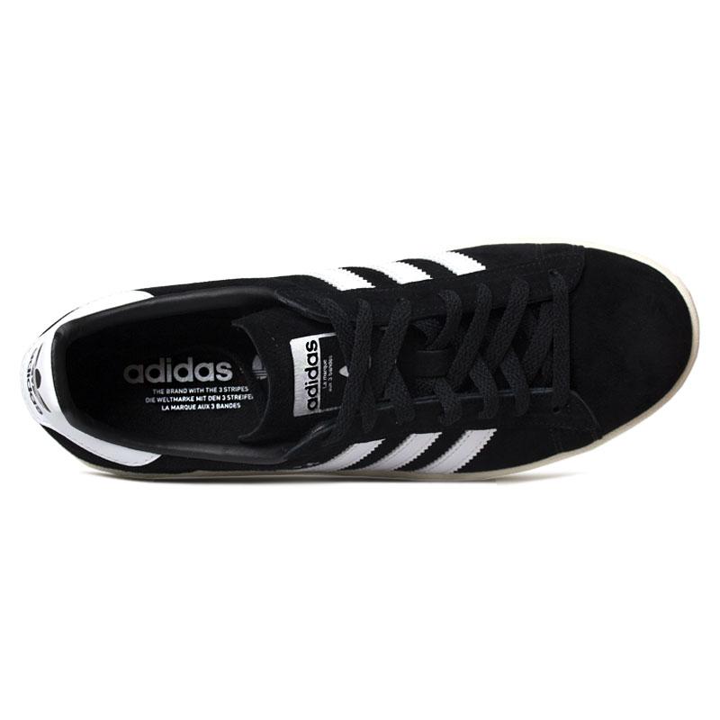 Tenis adidas campus black white 2