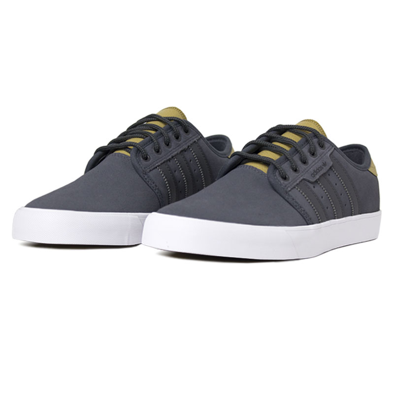 Tenis adidas seeley grey five raw sand 2