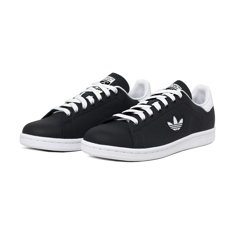 Adidas tenis stan smith black white 1