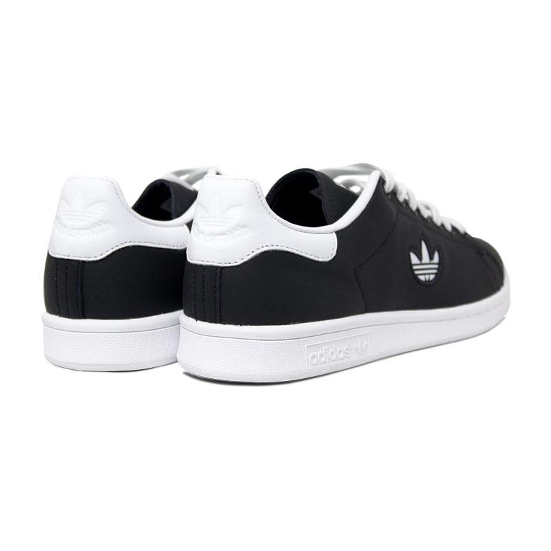 Adidas tenis stan smith black white 3