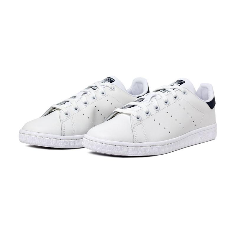 Adidas tenis stan smith white navy 1