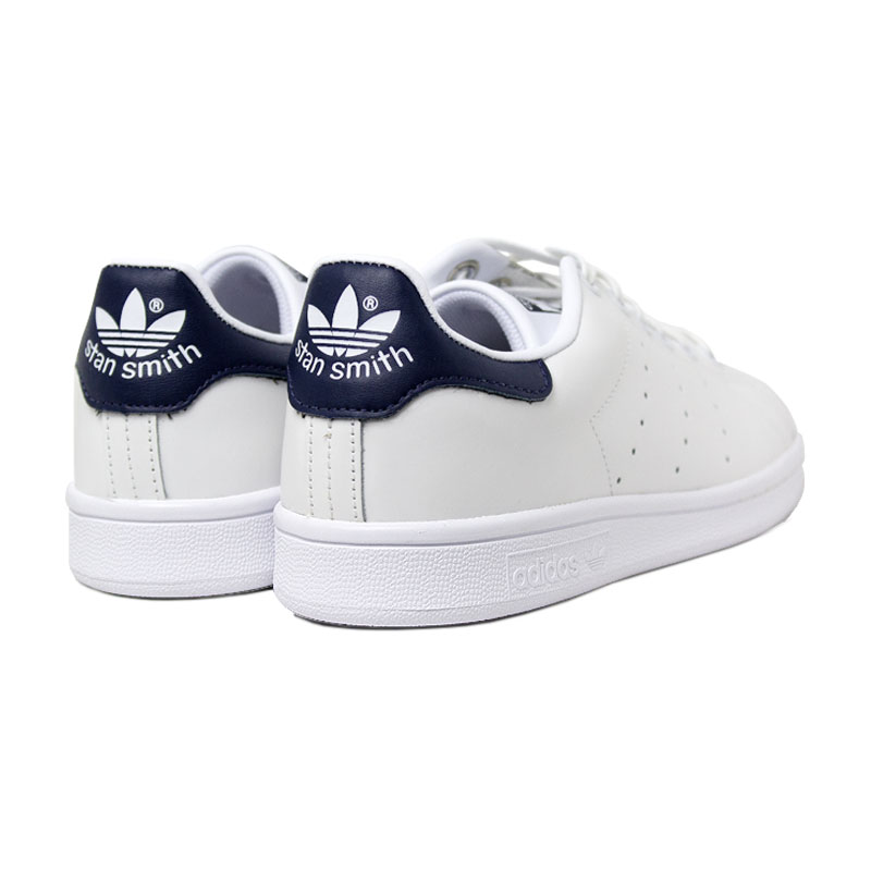 Adidas tenis stan smith white navy 2