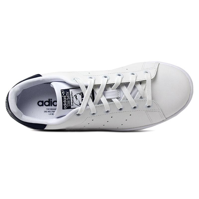 Adidas tenis stan smith white navy 3