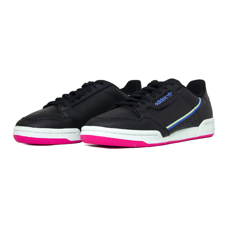 Adidas tenis continental 80 black color 2