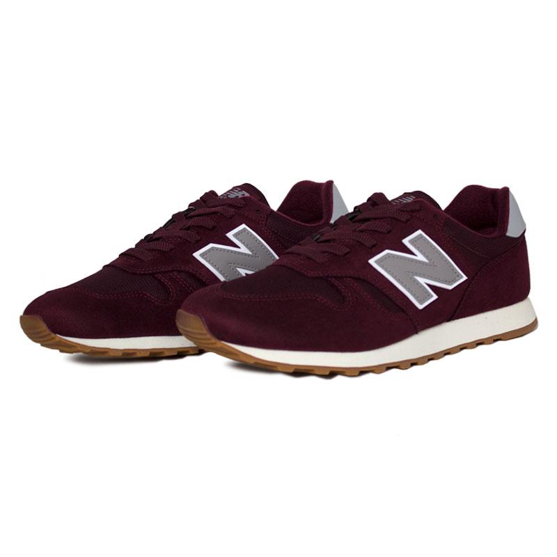 New balance 373 masculino red white 2