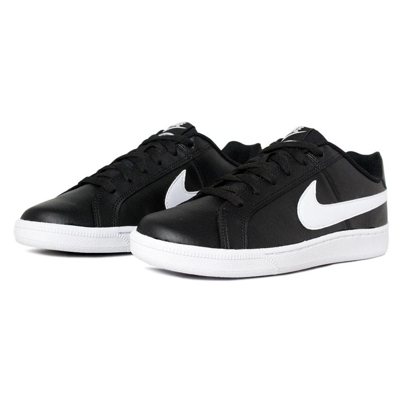 Nike court royale black white 1
