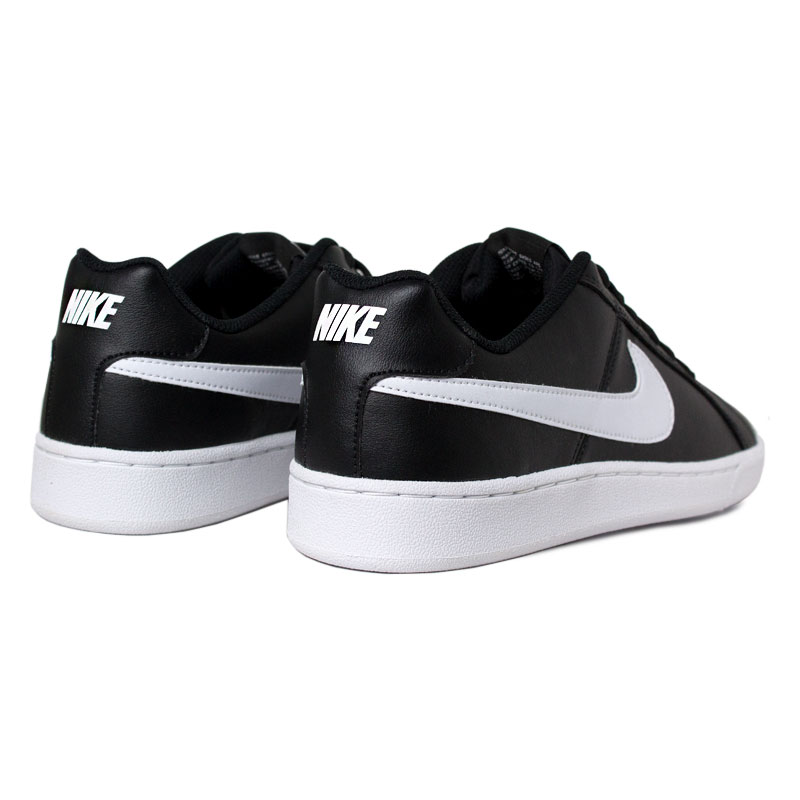 Nike court royale black white 3