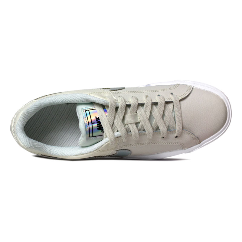 Nike court royale donna white holographic 2