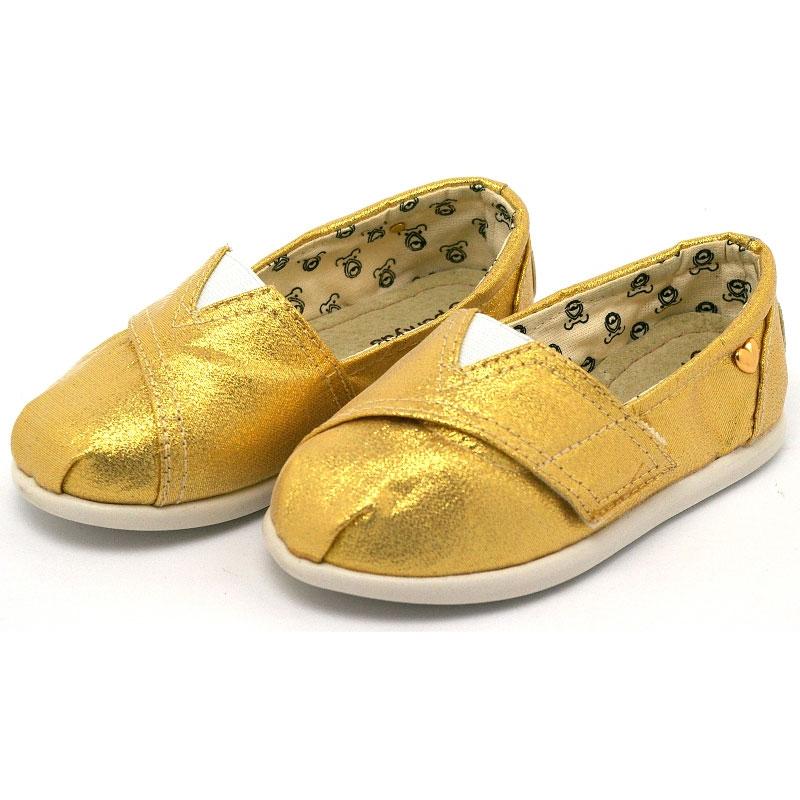 Alpargata perky baby golden 1