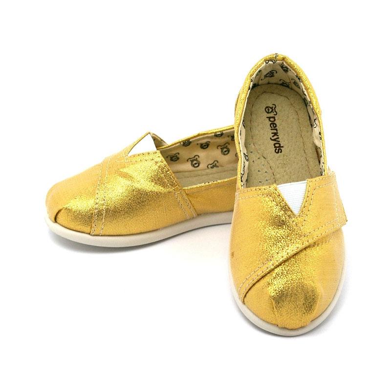 Alpargata perky baby golden 2