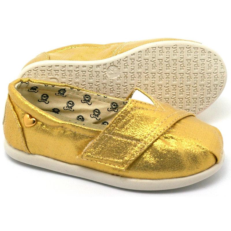 Alpargata perky baby golden 4