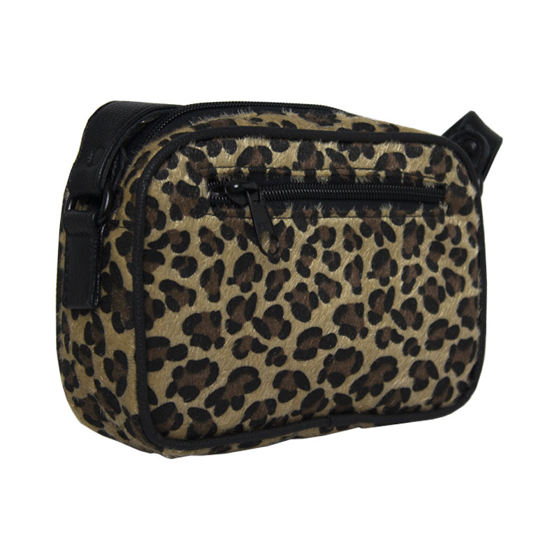 Bolsa perky retangular leopardo 1