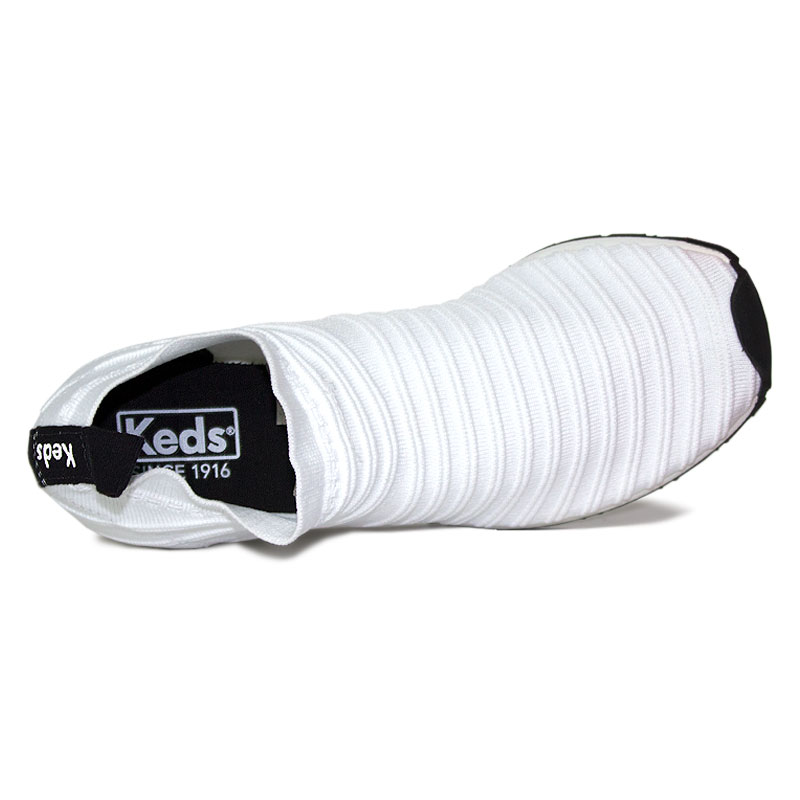 Keds jogging tricot branco 3