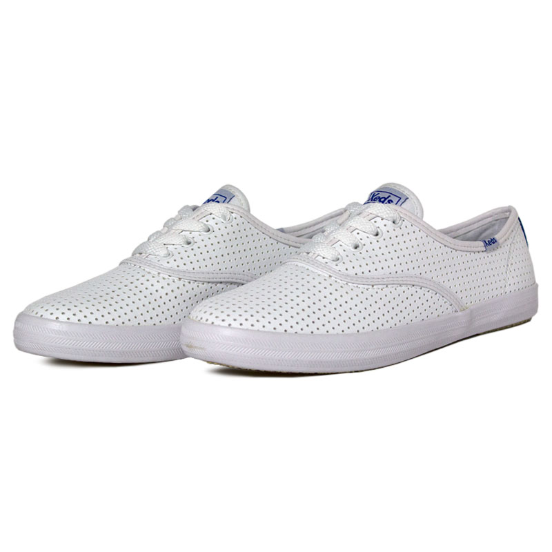 Tenis keds champion retro court perf branco 7