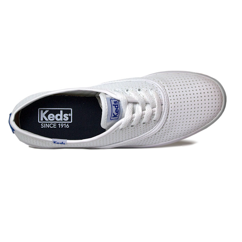 Tenis keds champion retro court perf branco 8
