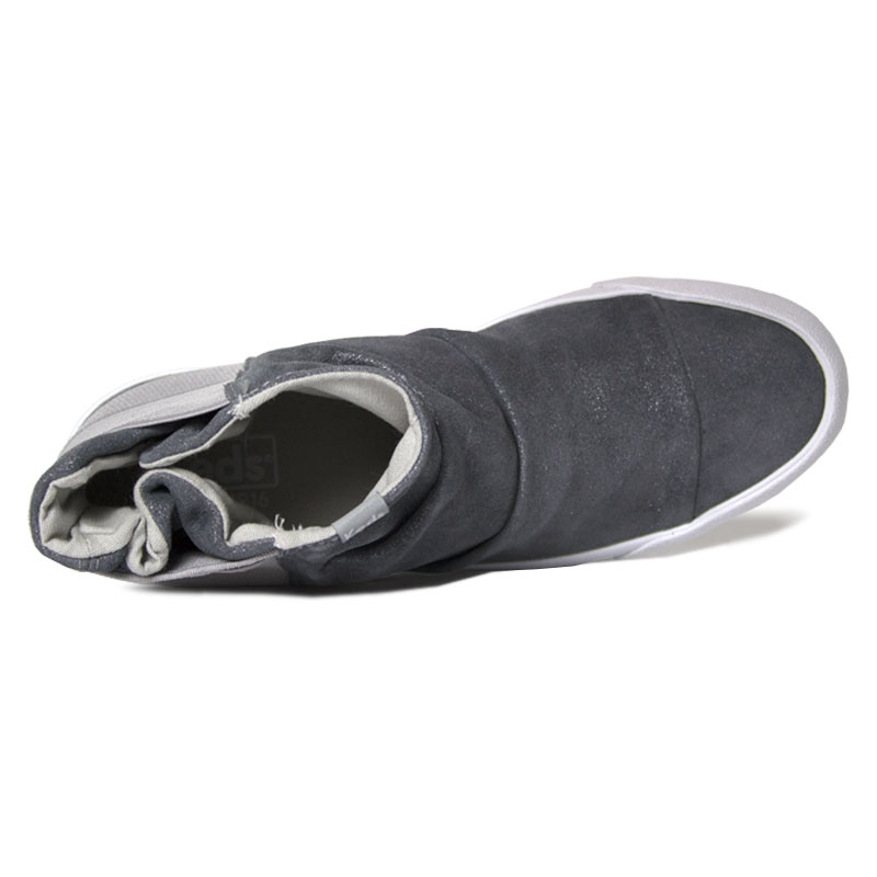 Topkick keds boot glitter suede cinza 1