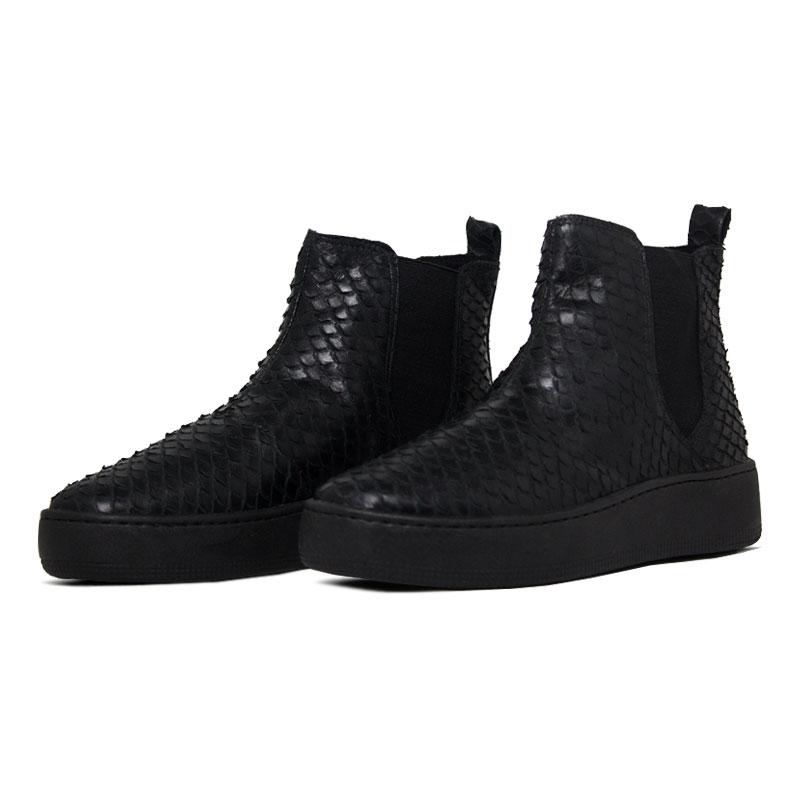 Convexo boot escamas preto 1
