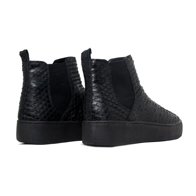 Convexo boot escamas preto 3