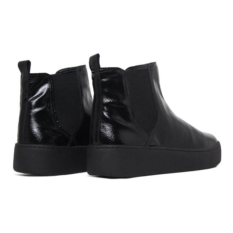 Convexo boot verniz preto 1