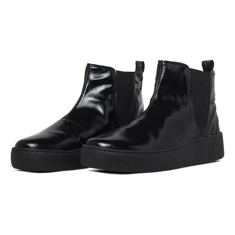 Convexo boot verniz preto 3