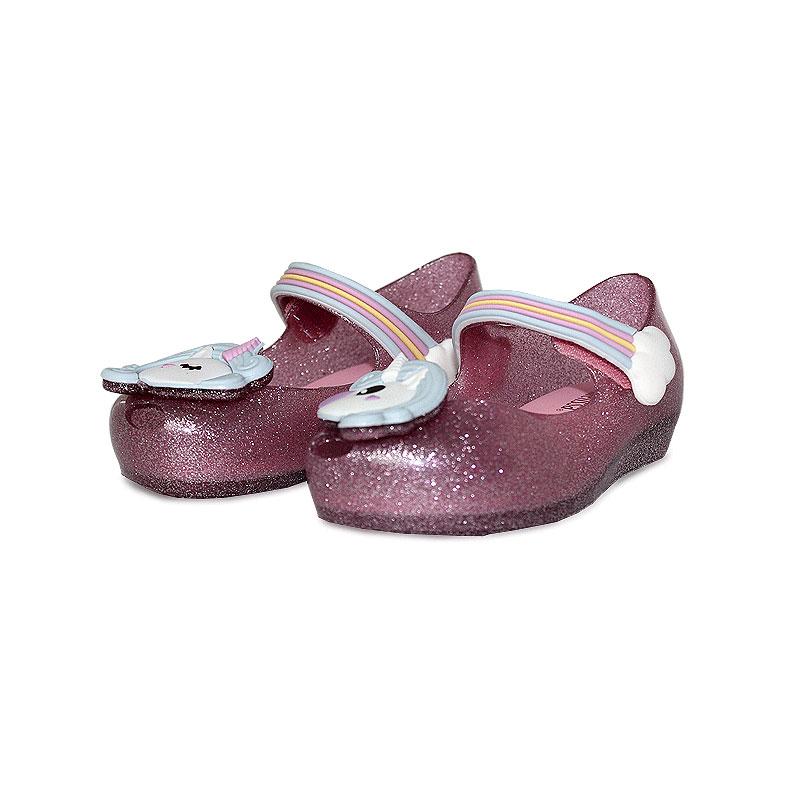 Mini melissa ultragirl unicornio rosa glitter 2