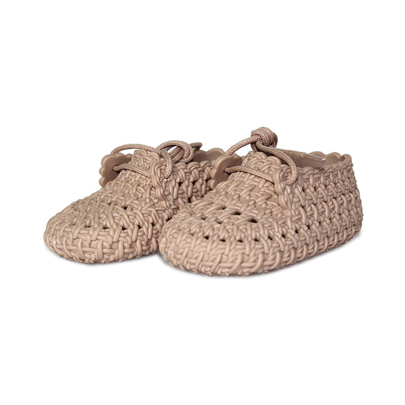 My firsts mini melissa tricot bege 3