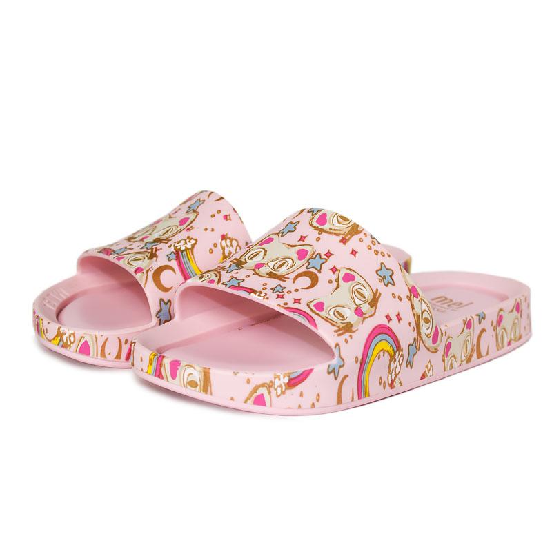 Melissa mel beach slide 3db ii rosa gato 2