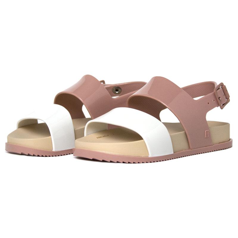 Melissa mel cosmic sandal bege branco 1