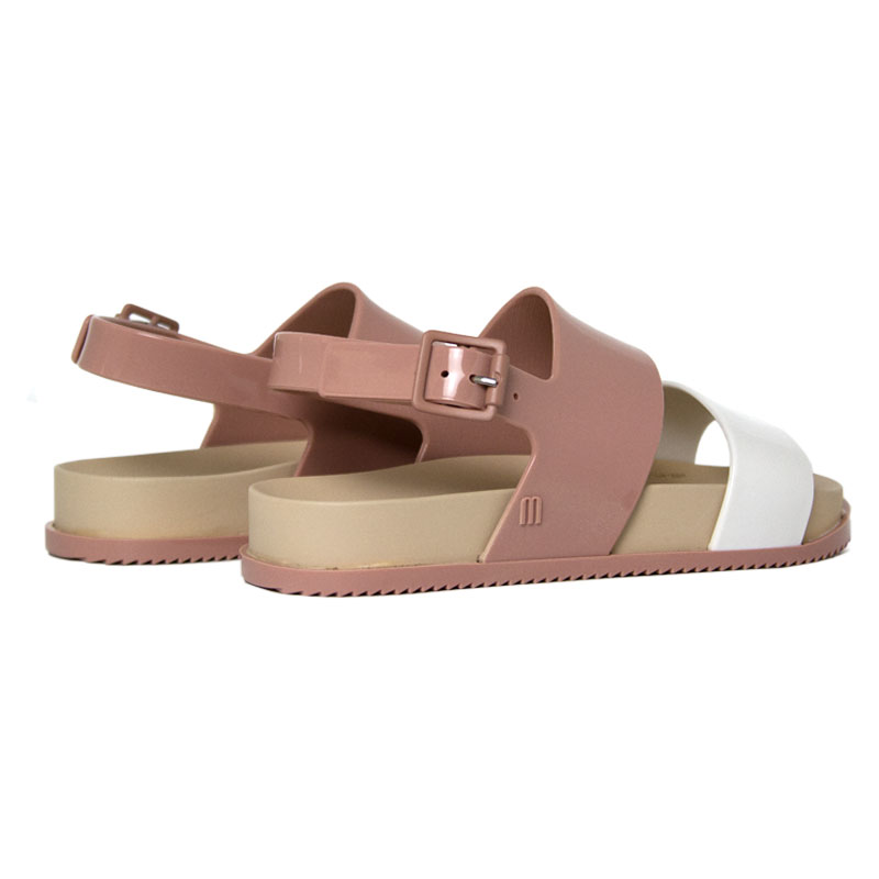 Melissa mel cosmic sandal bege branco 2