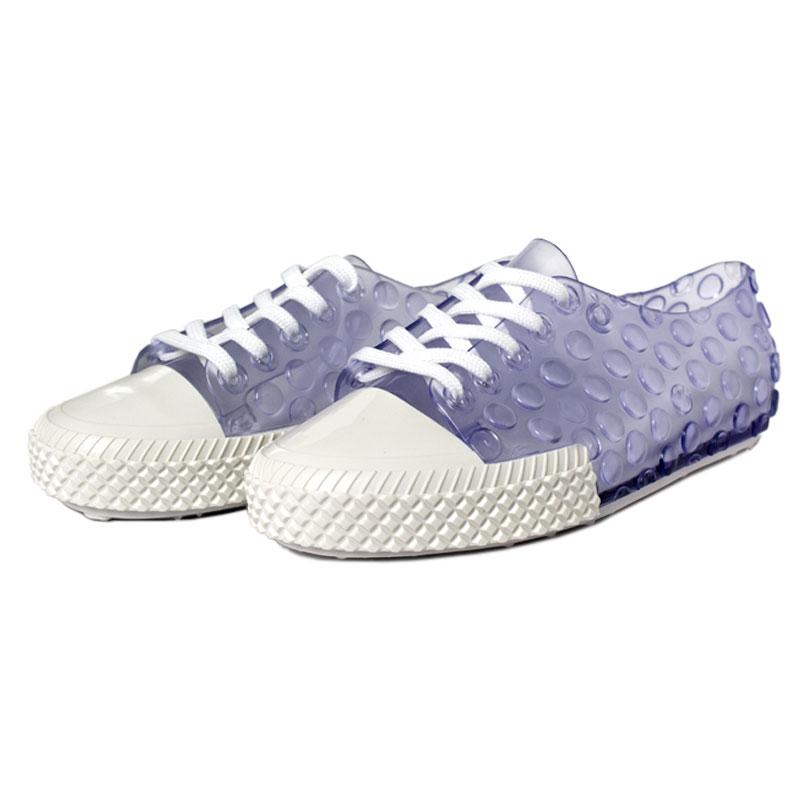 Melissa polibolha sneaker vidro branco 1