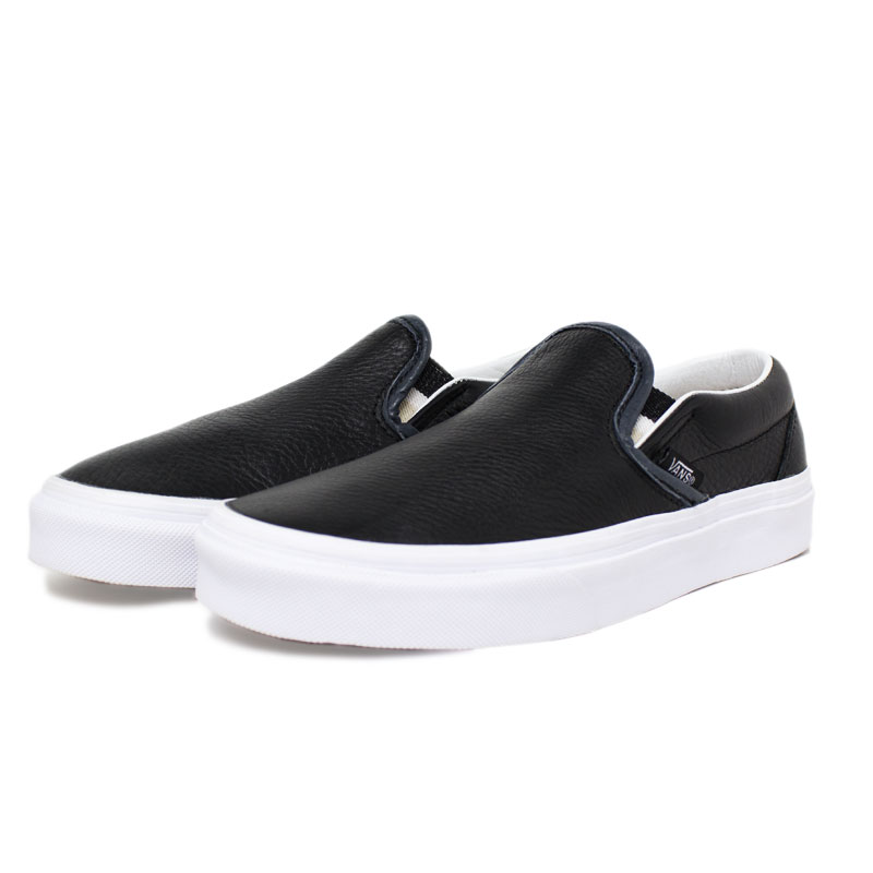 Tenis vans slip on lurex gore black 2